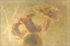 Acrylglas print  Dance of the hours - Gaetano Previati