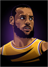 Premium poster LeBron James