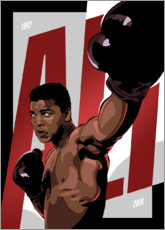 Premium poster Ali The Greatest