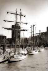 Canvas print  Port of Hamburg - Carmen Varo