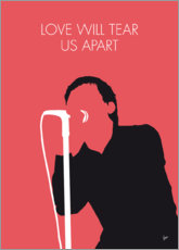 Premium poster Joy Division - Love Will Tear Us Apart