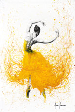 Aluminium print  Daisy Yellow Dancer - Ashvin Harrison
