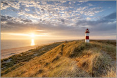Acrylglas print  Lighthouse List East on Sylt - Jan Christopher Becke