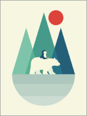 Canvas print  Bear You - Andy Westface
