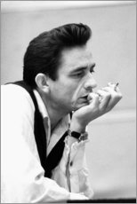 Premium poster  Johnny Cash - Celebrity Collection