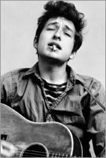 Gallery print  Bob Dylan met gitaar - Celebrity Collection