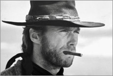 Premium poster  Clint Eastwood in The Good, the Bad and the Ugly - Celebrity Collection