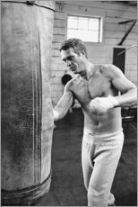 Gallery print  Steve McQueen boksen - Celebrity Collection