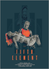 Muursticker  The Fifth Element - Fourteenlab