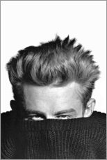 Premium poster  James Dean verbergt zich - Celebrity Collection