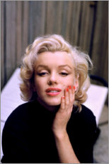 Acrylglas print  Marilyn Monroe in kleur - Celebrity Collection