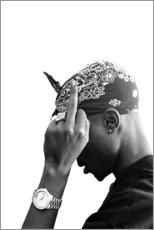 Premium poster  2pac - Celebrity Collection