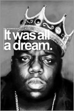 Canvas print  Notorious BIG - Celebrity Collection