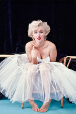 Acrylglas print  Marylin Monroe in balletjurk - Celebrity Collection