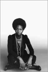 Premium poster  Nina Simone - Celebrity Collection
