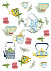 Aluminium print  High tea - Grace Popp