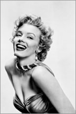 Acrylglas print  Marilyn Monroe - Smiling - Celebrity Collection