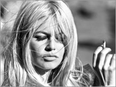 Canvas print  Brigitte Bardot - vervliegen - Celebrity Collection
