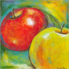 Acrylglas print  Abstract Fruits - Apple IV - Chariklia Zarris
