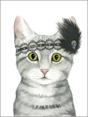 Canvas print  Cat of Downton II - Grace Popp