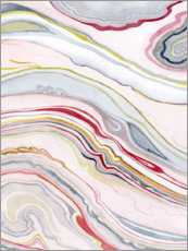 Gallery print  Watercolor marbled II - Grace Popp