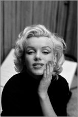 Acrylglas print  Marilyn Monroe's dreamy look - Celebrity Collection