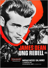 Canvas print  Rebel Without a Cause (Zweeds) - Entertainment Collection