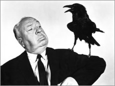 Premium poster Alfred Hitchcock, the birds