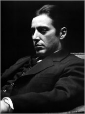 Hout print  The godfather, Al Pacino