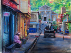 Acrylglas print  High street 4pm - Jonathan Guy-Gladding