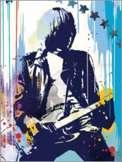 Acrylglas print  Johnny Ramone, The Ramones II - 2ToastDesign