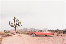 Acrylglas print  Vintage car in the desert - Sisi And Seb