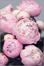 Canvas print  Peonies in pink - Sisi And Seb