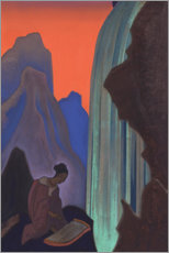 Acrylglas print  Song from the waterfall - Nicholas Roerich