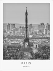 Acrylglas print  Paris - Art Couture