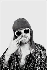 Canvas print  Kurt Cobain - Celebrity Collection