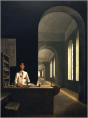 Canvas print  The chemist - Franz Sedlacek