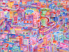 PVC print  Big City Feeling - Josh Byer