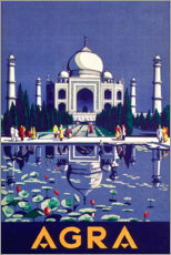 Canvas print  Agra - Travel Collection