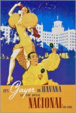 Acrylglas print  Hotel National of Cuba (spanish) - Travel Collection