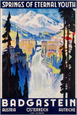 Acrylglas print  Bad Gastein (English) - Travel Collection