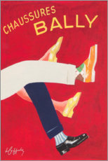 Acrylglas print  Bally shoes (french) - Advertising Collection