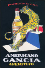 Acrylglas print  Gancia Vermouth Bianco (Italian) - Advertising Collection