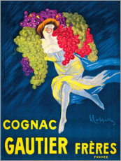 Canvas print  Cognac Gautier freres (french) - Leonetto Cappiello