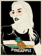 Gallery print  Pineapple - dolceQ