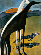 Canvas print  Greyhounds - Amadeo de Souza-Cardoso