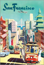 Acrylglas print  San Francisco - Travel Collection