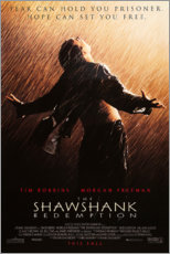Canvas print  The Shawshank Redemption (Engels) - Entertainment Collection