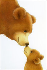 Canvas print  Big Bear, Little Bear - Lisa Alderson