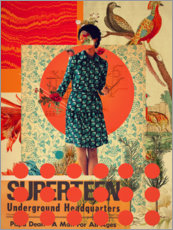 Canvas print  Superteen - Frank Moth